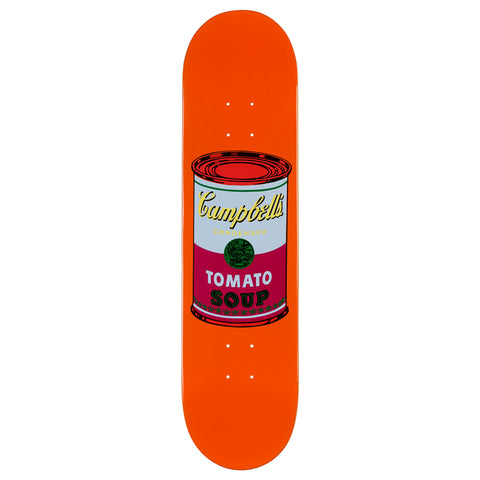 The Skateroom Andy Warhol Coloured Campbell's Soup Skateboard - Purple