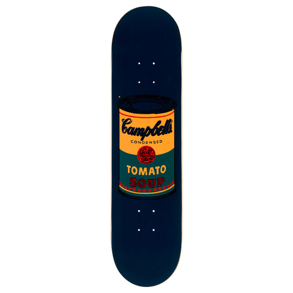 Andy Warhol Coloured Campbell's Soup Skateboard - Teal