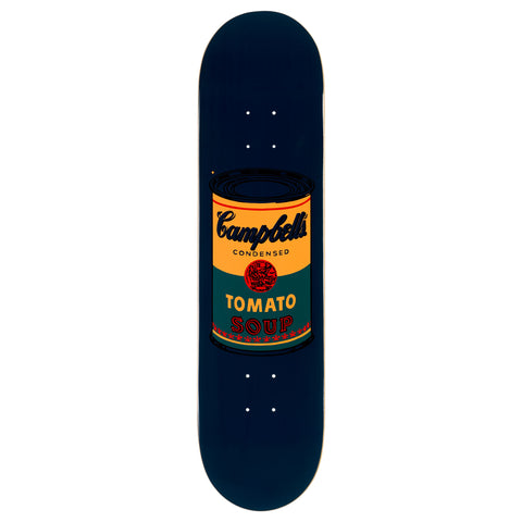 The Skateroom Andy Warhol Coloured Campbell's Soup Skateboard - Teal