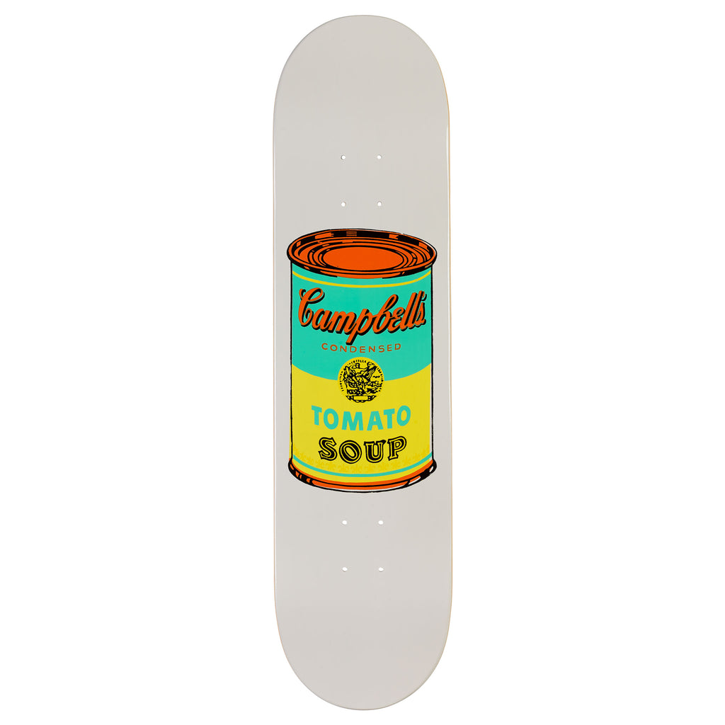 Andy Warhol Coloured Campbell's Soup Skateboard - Yellow