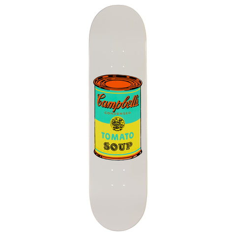 The Skateroom Andy Warhol Coloured Campbell's Soup Skateboard - Yellow