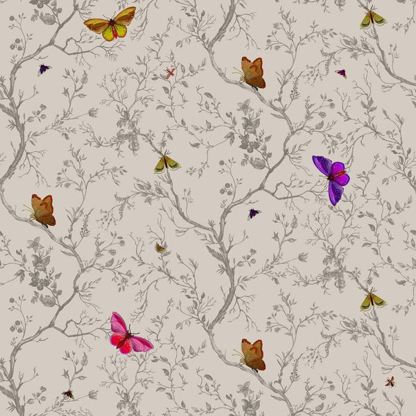 Timorous Beasties Butterflies Fabric