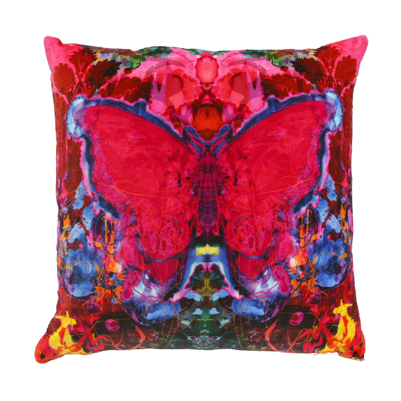 Timorous Beasties 'Butterfly Blotch' Cushion Front