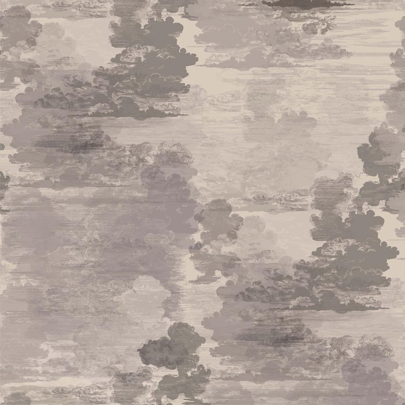 Timorous Beasties Cloud Toile Fabric Greys
