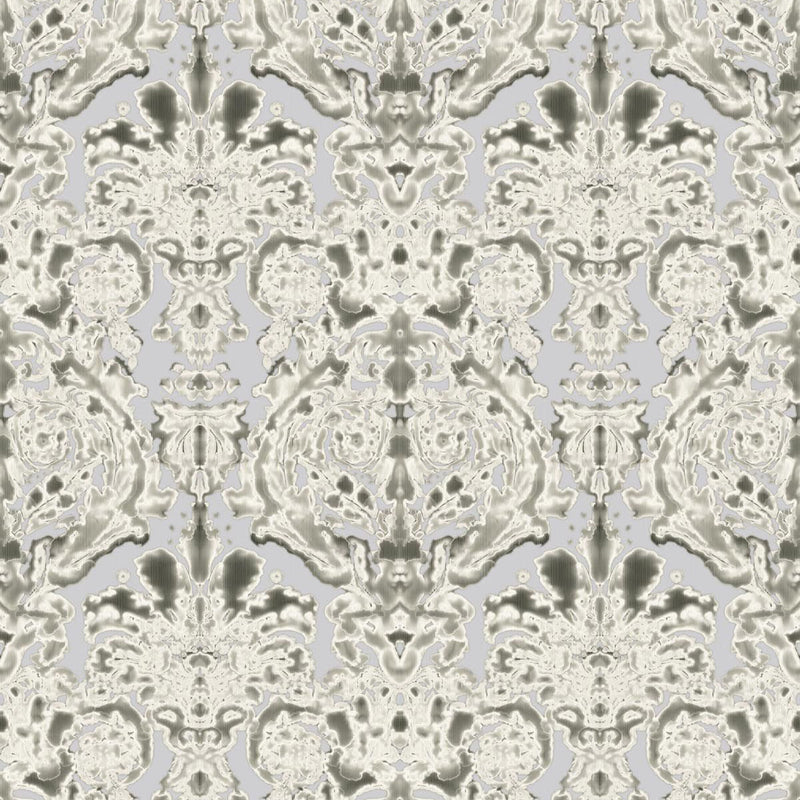 Timorous Beasties 'Dam Classic' Wallpaper Rat Grey