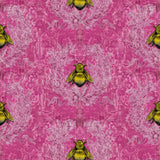 Timorous Beasties 'Imperial Apiary' Wallpaper Pink