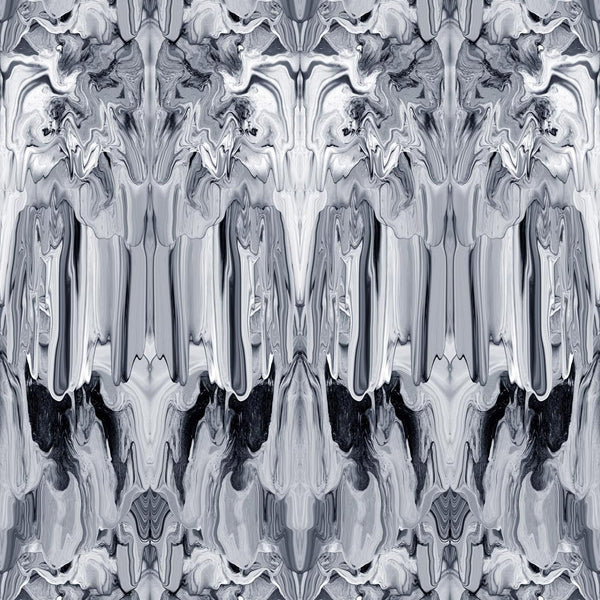 Timorous Beasties 'Marble Gum' Wallpaper Greys