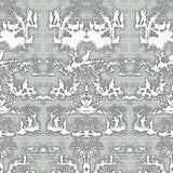 Timorous Beasties 'Open Season' Wallpaper Grey