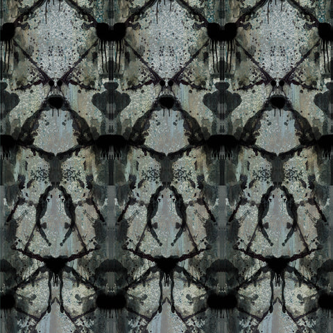 Timorous Beasties Rorschach Diamond Panel Wallpaper