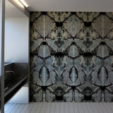 Timorous Beasties Rorschach Diamond Panel Wallpaper Roomset