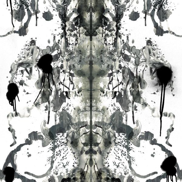 Timorous Beasties Rorschach Superwide Wallpaper Ice