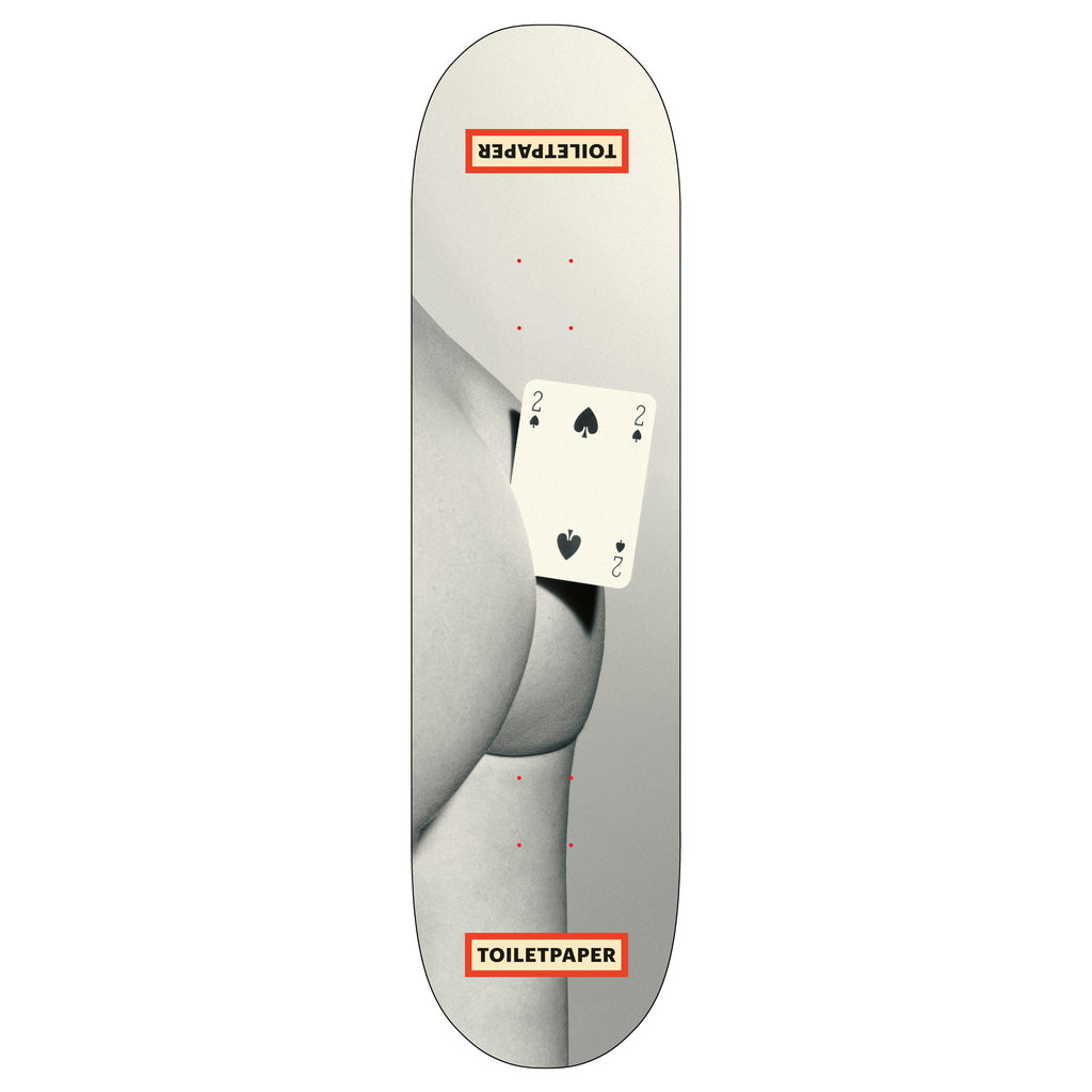 Toiletpaper 'Butt' Skateboard Deck