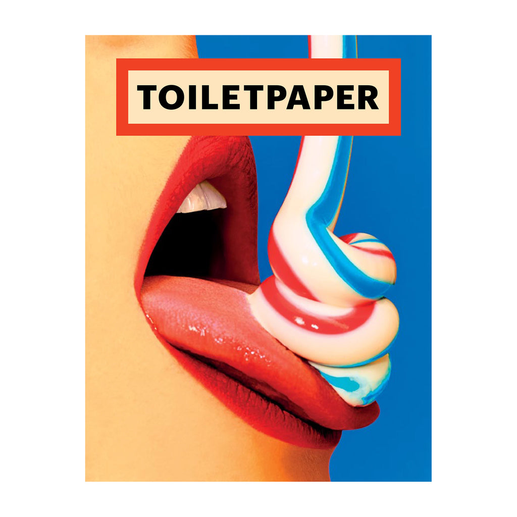 Toiletpaper Magazine 15 (Limited Edition w/ Scarf) Cover