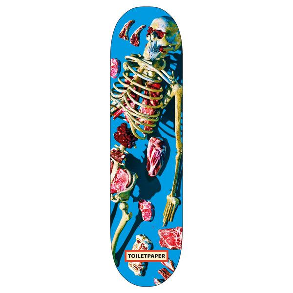 Toiletpaper 'Skeleton' Skateboard Deck