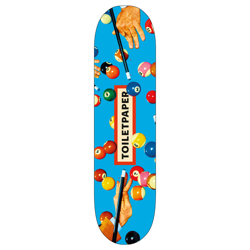 Toiletpaper 'Snooker' Skateboard Deck