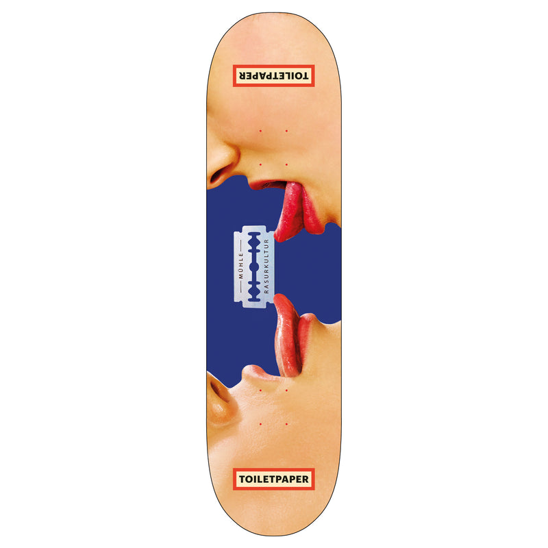 Toiletpaper 'Two Tongues' Skateboard Deck
