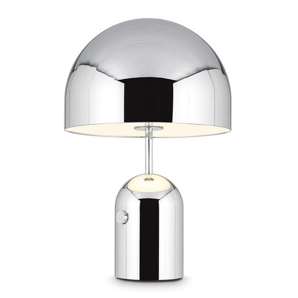 Tom Dixon 'Bell' Table Light Chrome Large On