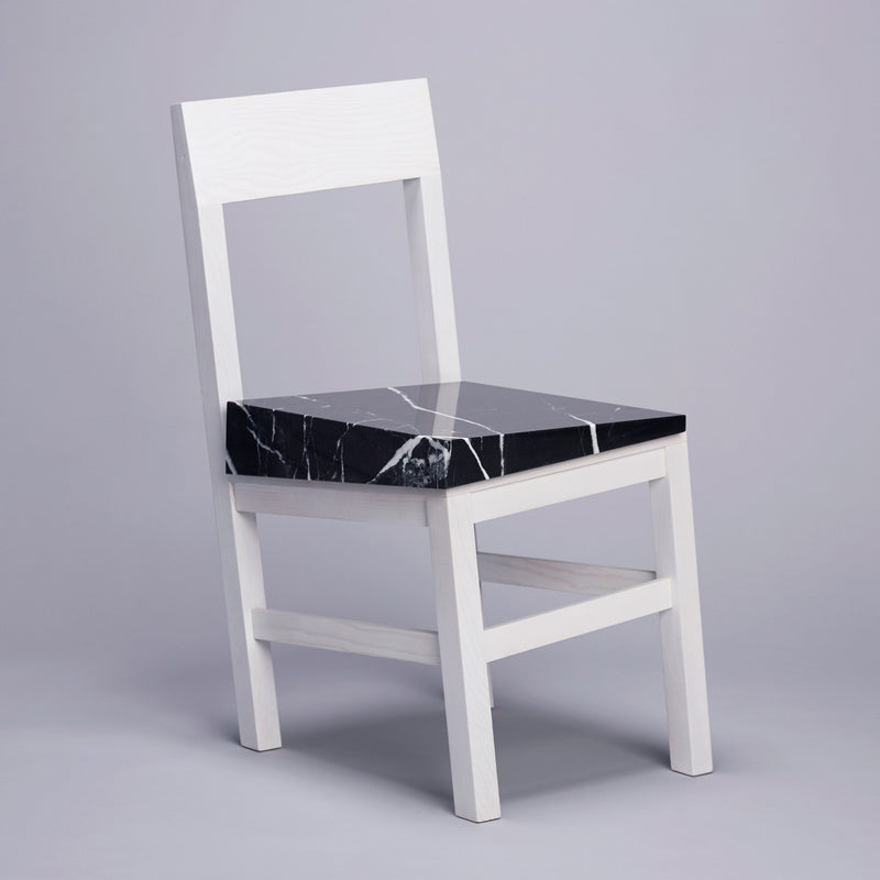 UVA Slip Chair by Snarkitecture Side Angle