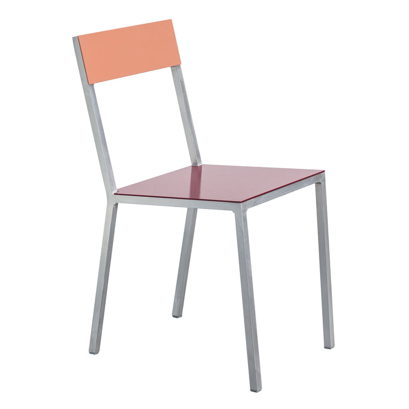 Alu Chair by Muller van Severen - Burgundy/Pink