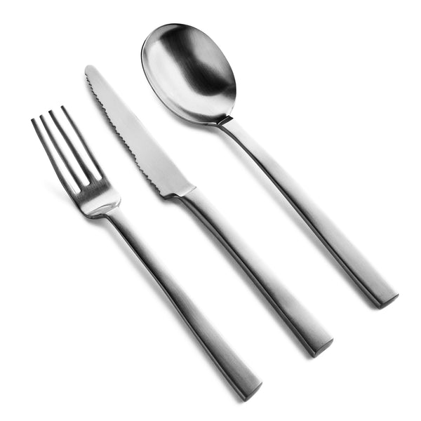 Valerie Objects 'Desert Cutlery' by Maarten Baas (12 Piece Set) Steel