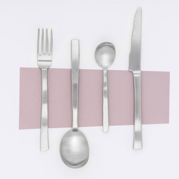 Maarten Baas Cutlery Brushed Steel Set