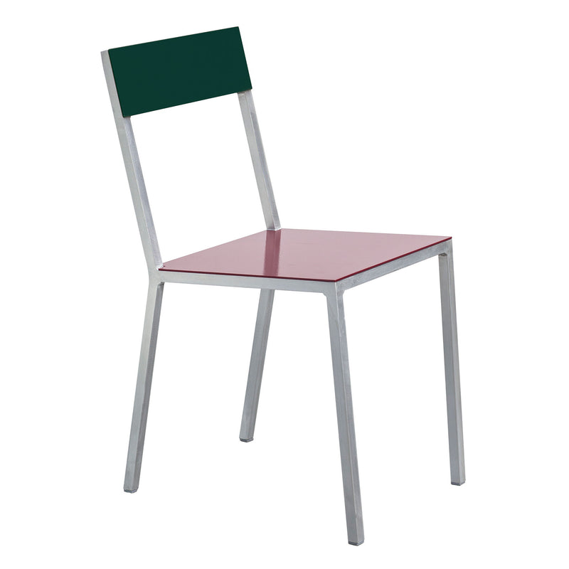 Alu Chair by Muller van Severen - Burgundy/Green