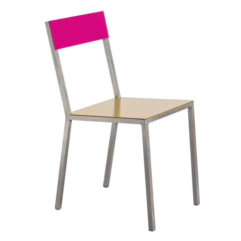 Alu Chair by Muller van Severen - Curry/Magenta