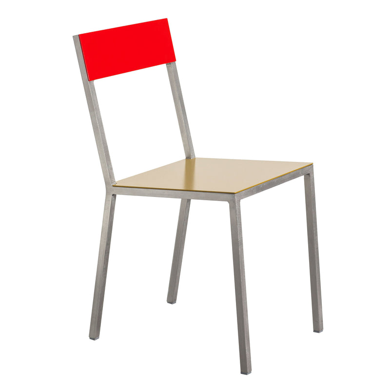 Alu Chair by Muller van Severen - Curry/Red
