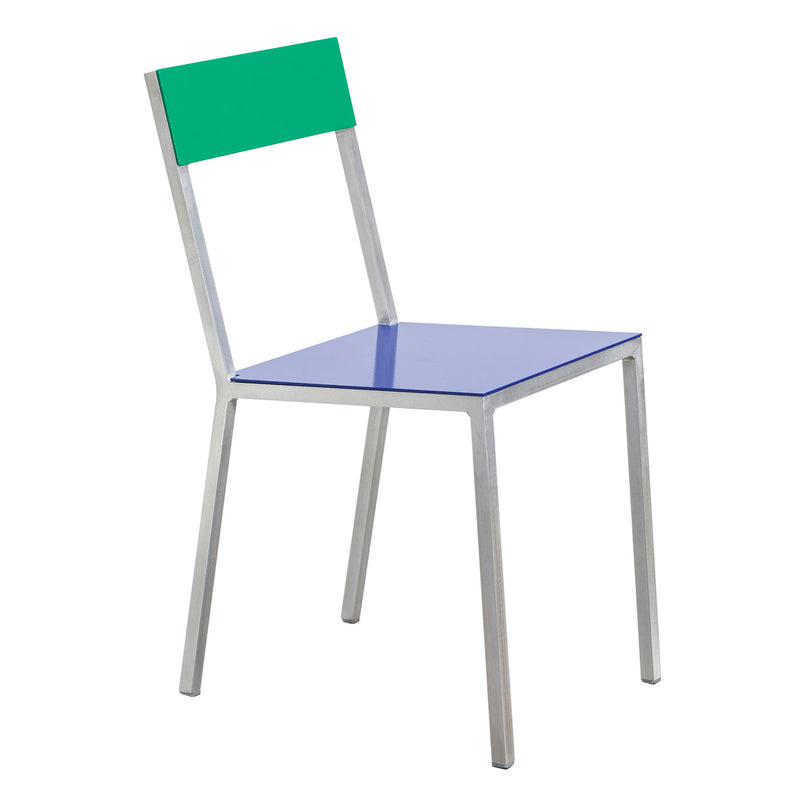 Alu Chair by Muller van Severen - Dark Blue/Green