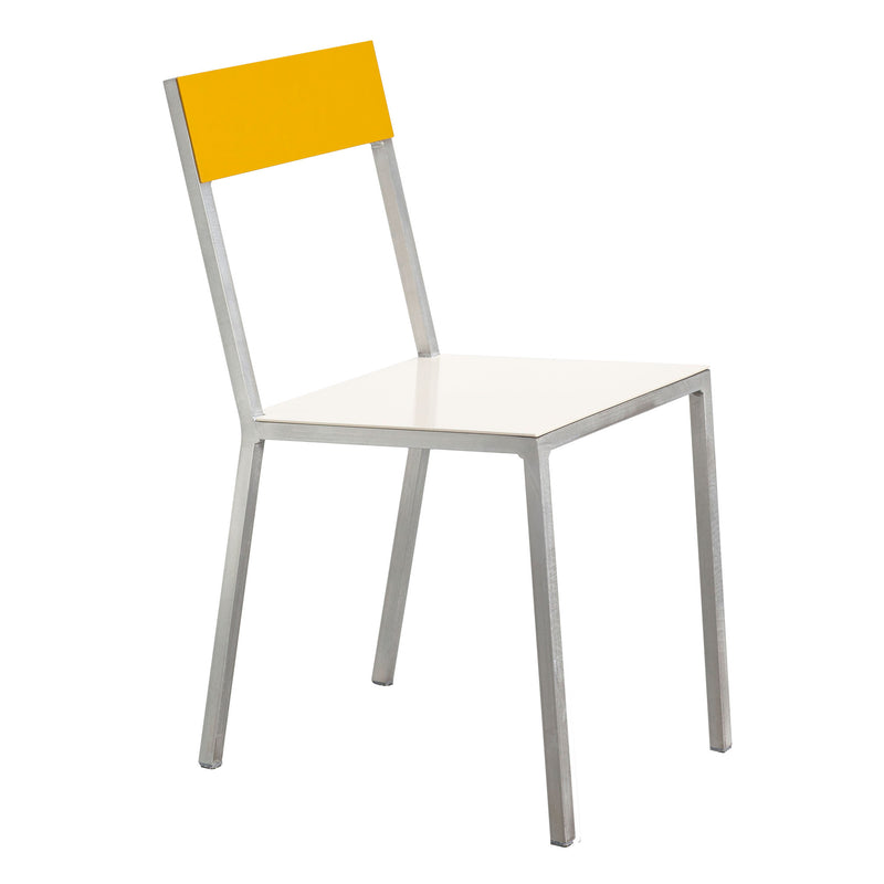 Alu Chair by Muller van Severen - White/Yellow