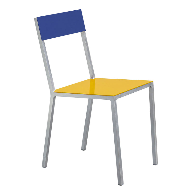 Alu Chair by Muller van Severen - Yellow/Dark Blue