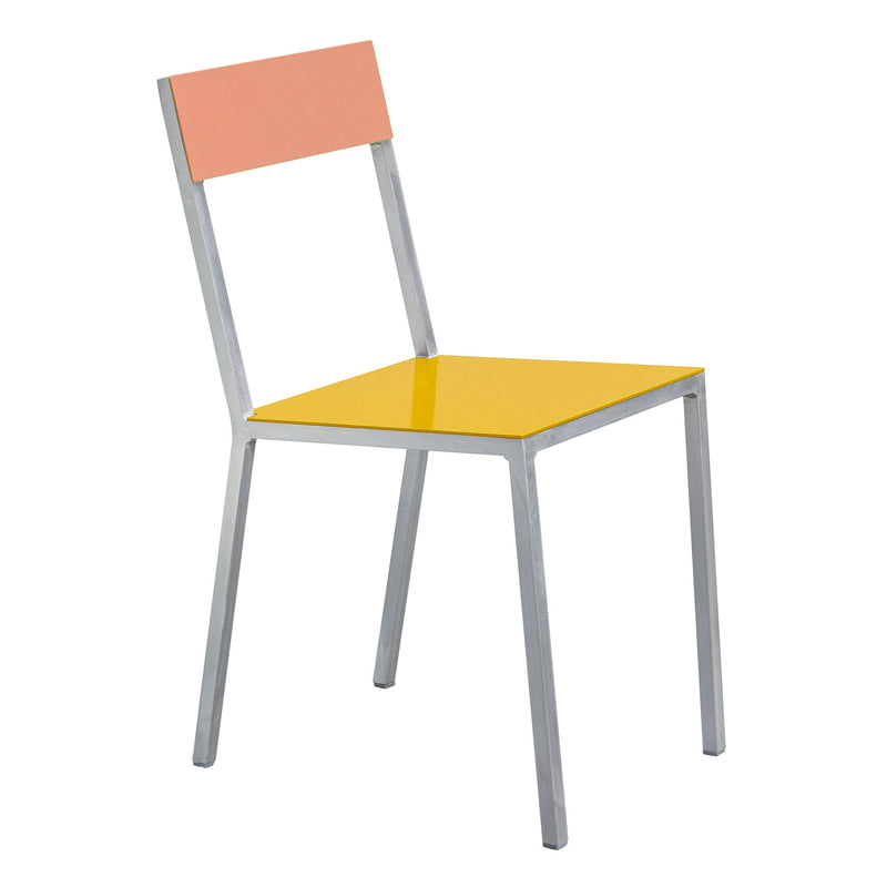 Alu Chair by Muller van Severen - Yellow/Pink