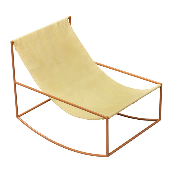 Valerie Objects 'Rocking Chair' by Muller van Severen Mustard/Yellow