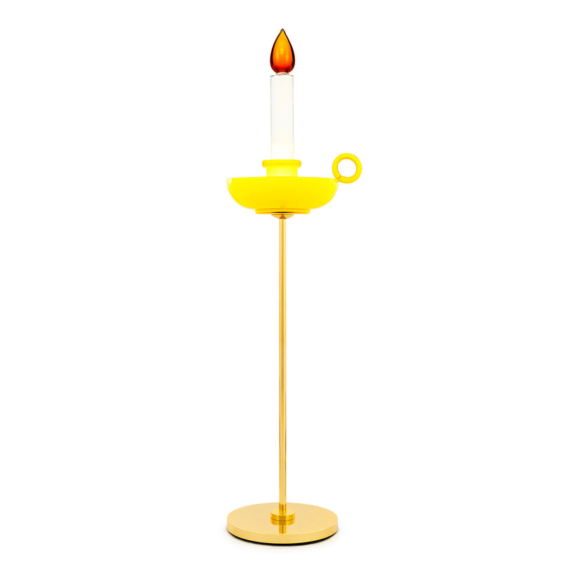 Venini Mae West Candlestick Floor Lamp by Studio Job