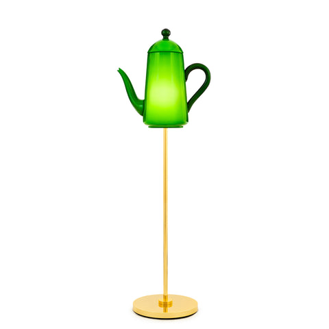 Venini Chocolate Pot Floor Lamp