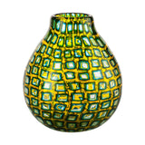 Venini Murrine Romane Vase by Carlo Scarpa - Green