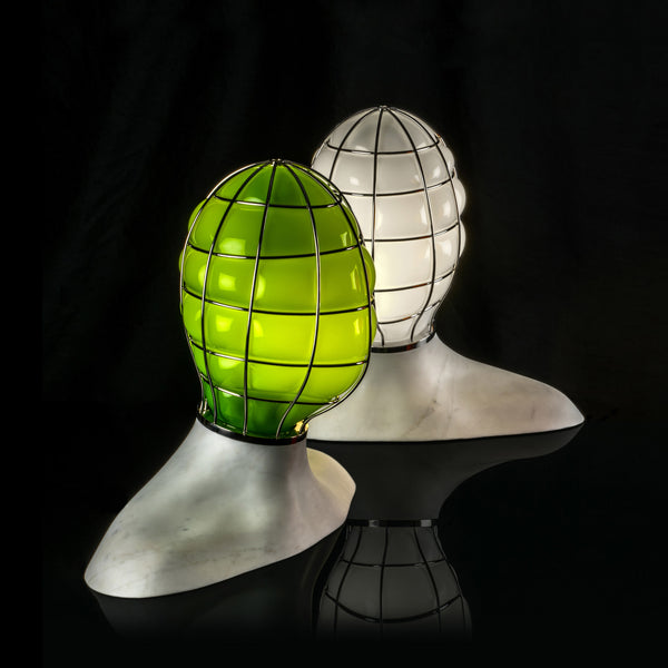 Venini Muse Table Lamp by Fabio Novembre - Green Group