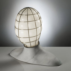 Venini Muse Table Lamp by Fabio Novembre - White
