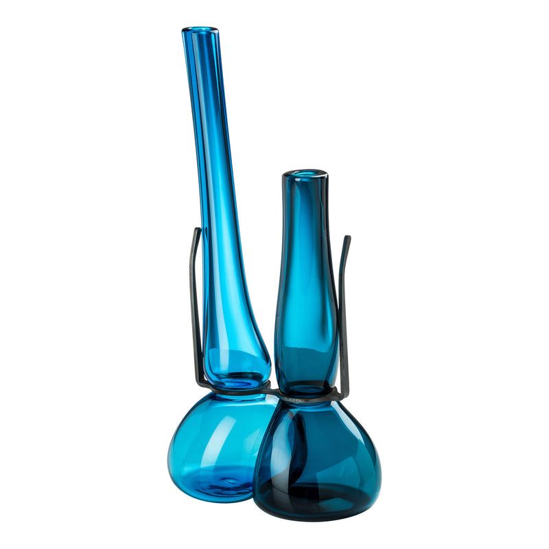 Venini Where Are My Glasses - Double Lens Vase Horizon/Aquamarine