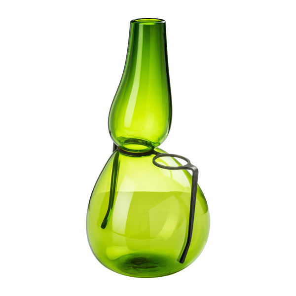 Venini Where Are My Glasses - Single Lens Vase Grass Green
