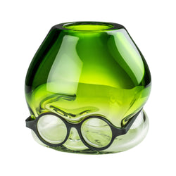 Venini Where Are My Glasses - Under Vase by Ron Arad Grass Green