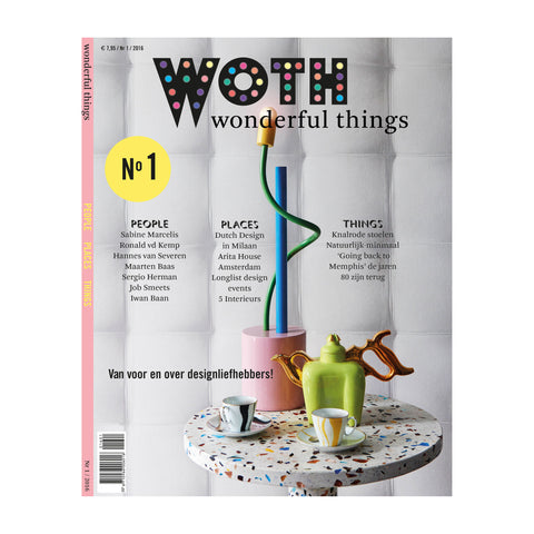 WOTH WOTH Wonderful Things Magazine No1 (English Edition)
