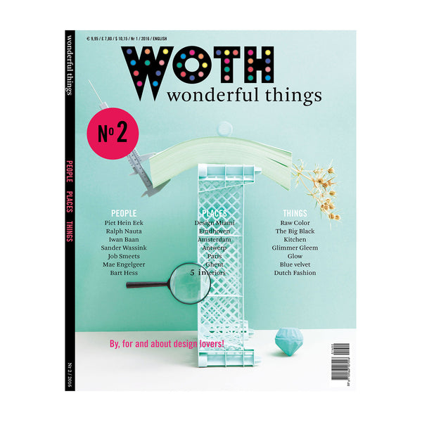 WOTH Wonderful Things Magazine No2 Cover