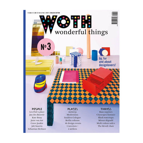 WOTH Wonderful Things Magazine No3 (English Edition) Cover