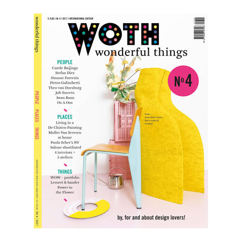 WOTH Wonderful Things Magazine No4 (English Edition) Cover