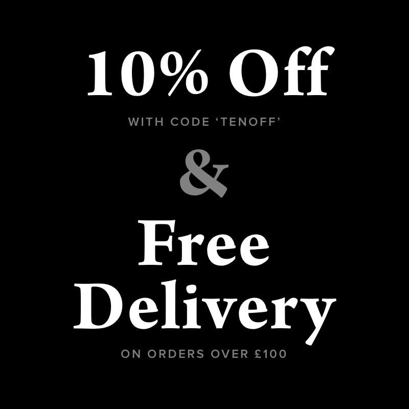 10% off with code TENOFF and free devliery on orders over £100
