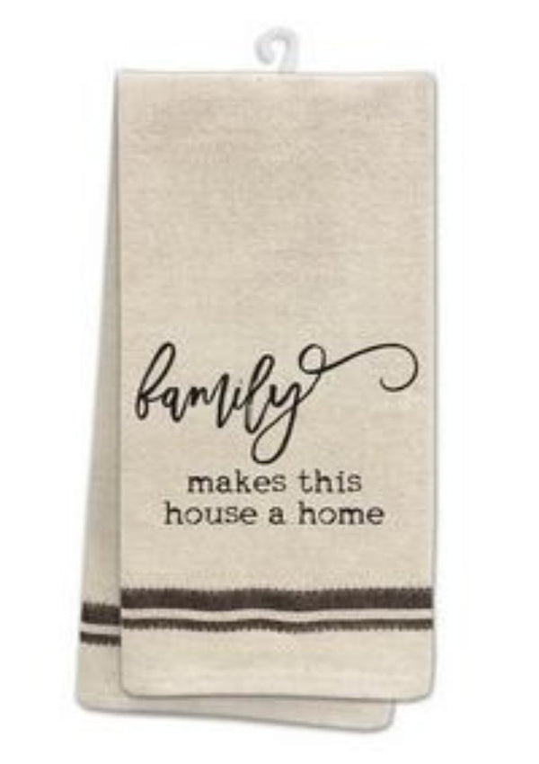 "Tea Towel ""Family"""