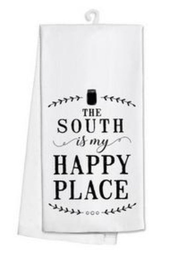 "Tea Towel ""The South"""