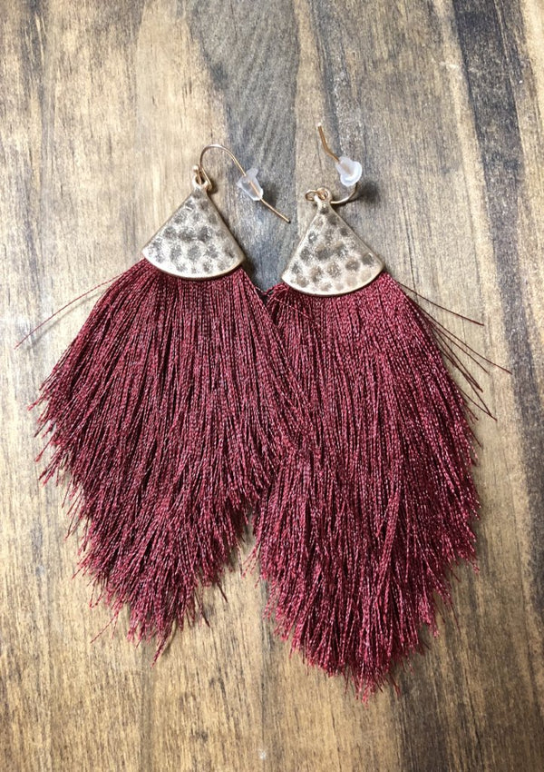 "3"" Tassel Earrings"
