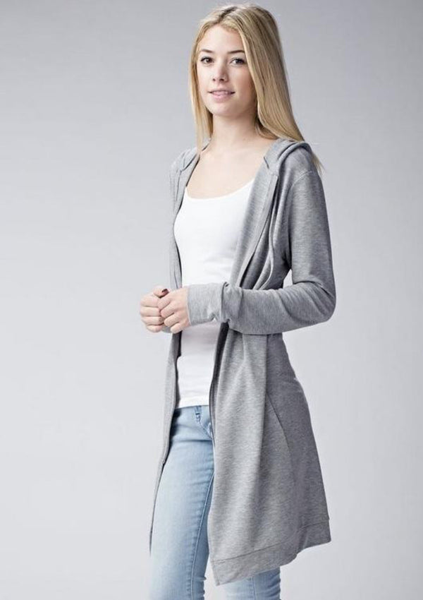 Long French Terry Jacket
